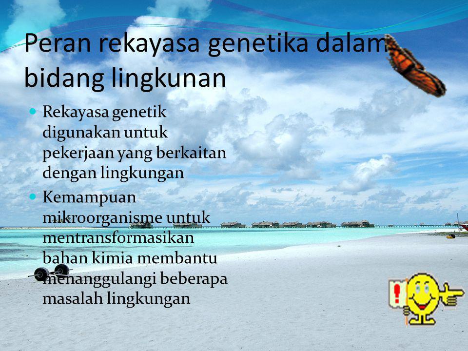 LANJUTAN Penguraian/ Biodegradasi Bahan Pencemar (Polutan).