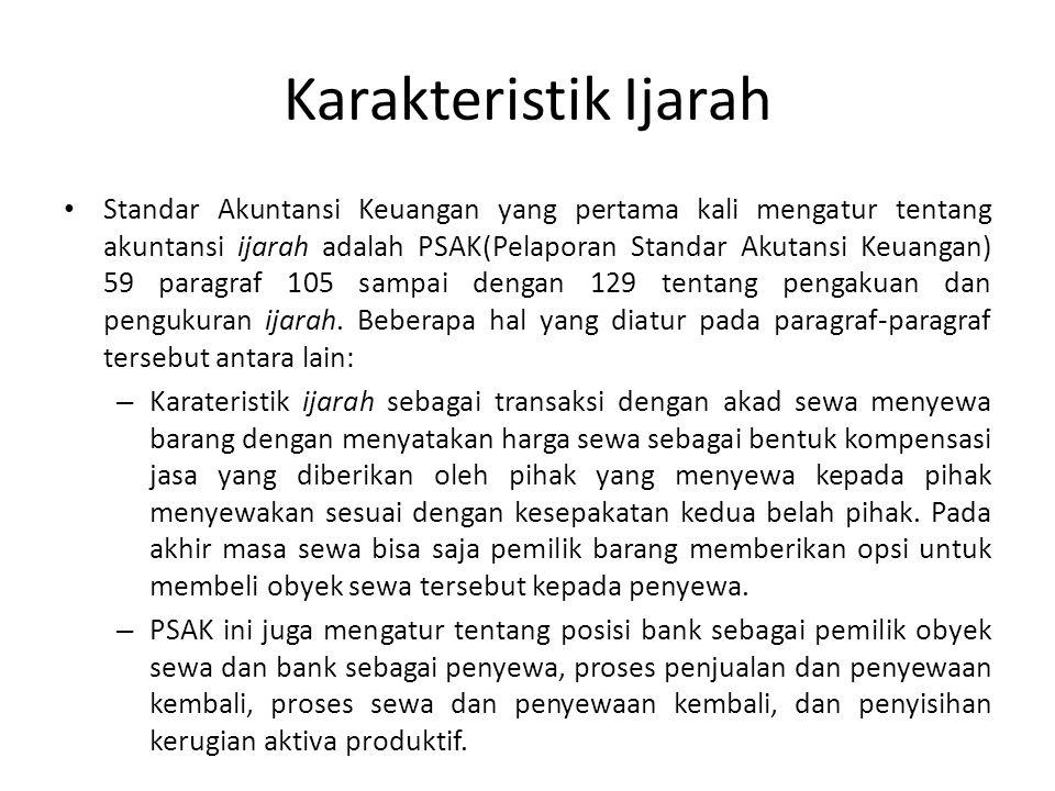 Update Selanjutnya diatur pada PSAK 107 tentang PSAK Ijarah