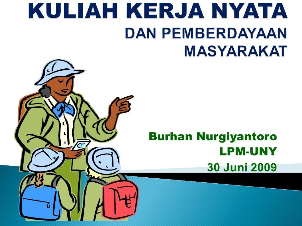 Burhan Nurgiyantoro LPM-UNY 30 Juni 2009