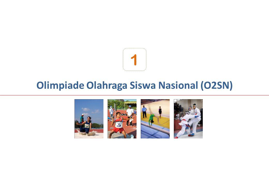 Olimpiade Olahraga Siswa Nasional (O2SN) 1