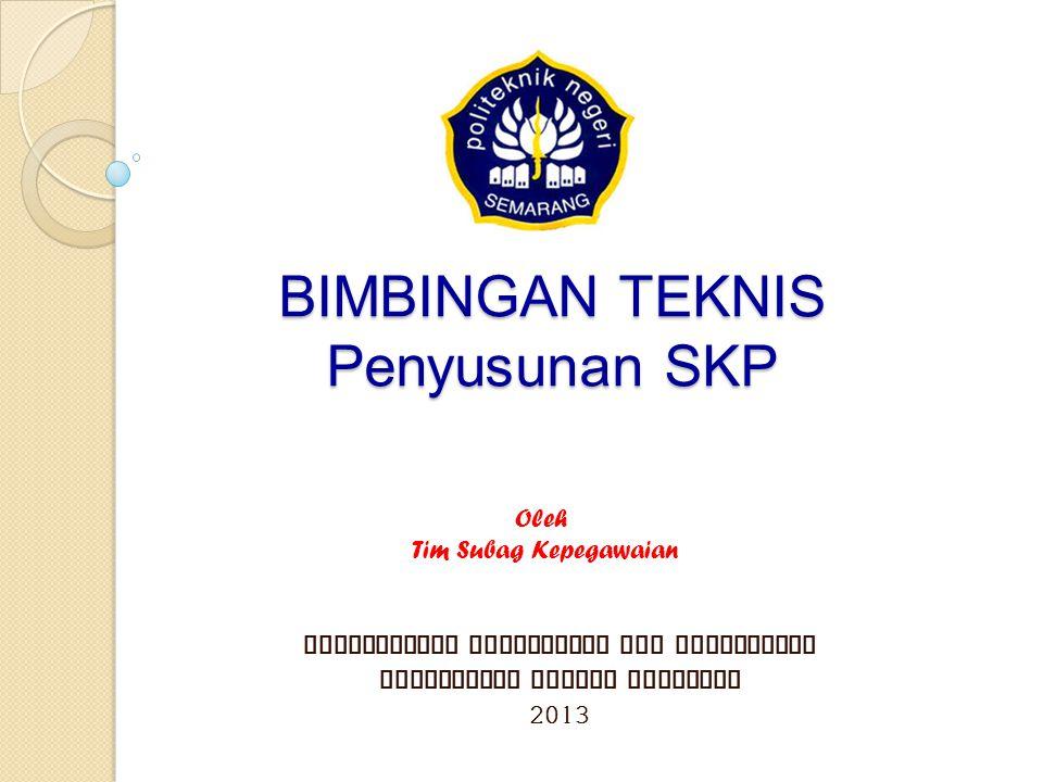 Penilaian prestasi kerja PNS dilaksanakan oleh Pejabat Penilai sekali dalam 1 tahun (akhir Desember tahun bersangkutan/akhir Januari tahun berikutnya), yang terdiri atas unsur: a.