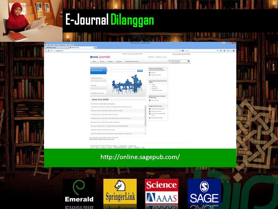 http://www.emeraldinsight.com/index.htm http://www.sciencemag.org/ http://link.springer.com/ http://online.sagepub.com/