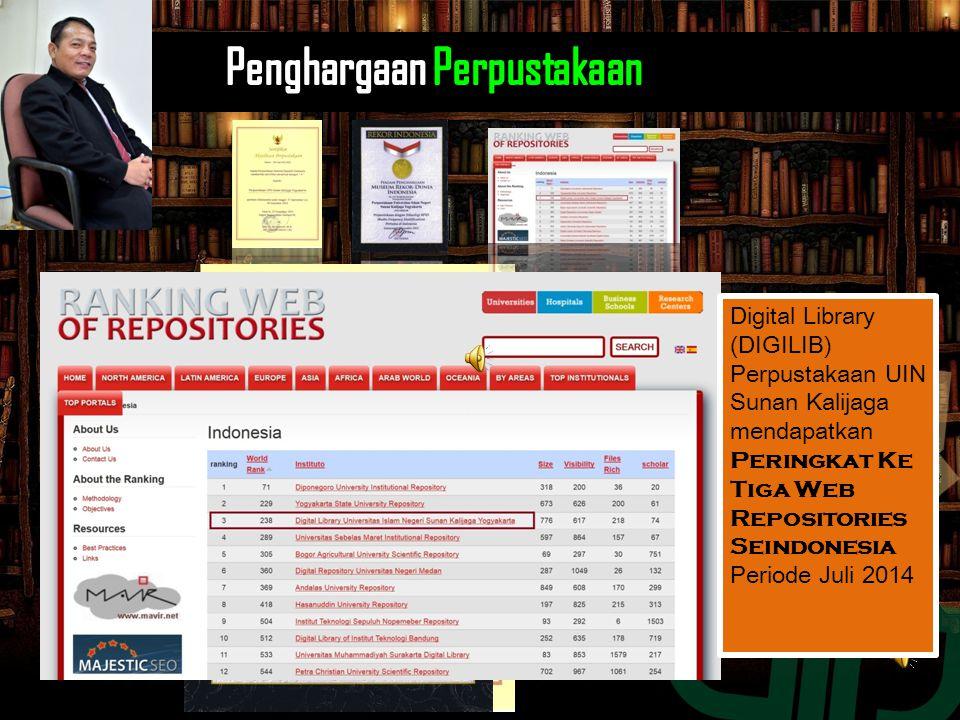 Perpustakaan UIN Sunan Kalijaga mendapatkan Akreditasi A Dari Perpustakaan Nasional Republik Indonesia (PNRI) Perpustakaan UIN Sunan Kalijaga mendapat