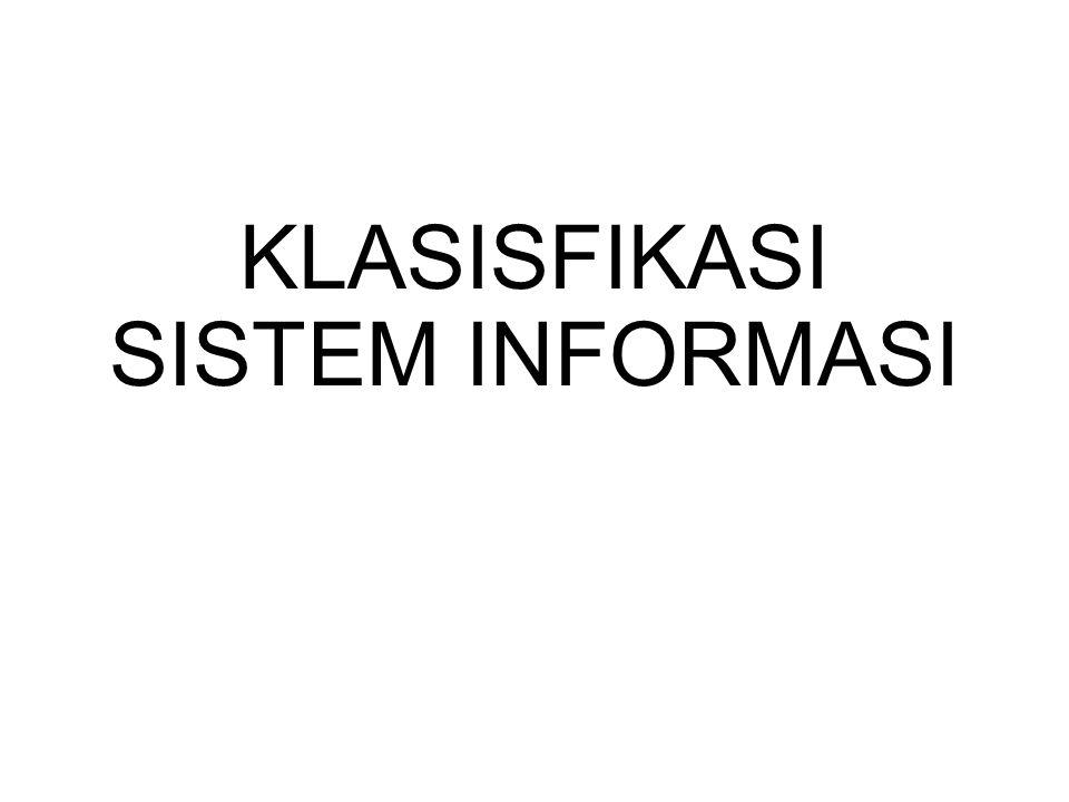 Sistem Informasi (SI) Sistem Informasi (SI) adalah kombinasi dari teknologi informasi dan aktivitas orang yang menggunakan teknologi itu untuk mendukung operasi dan manajemen.