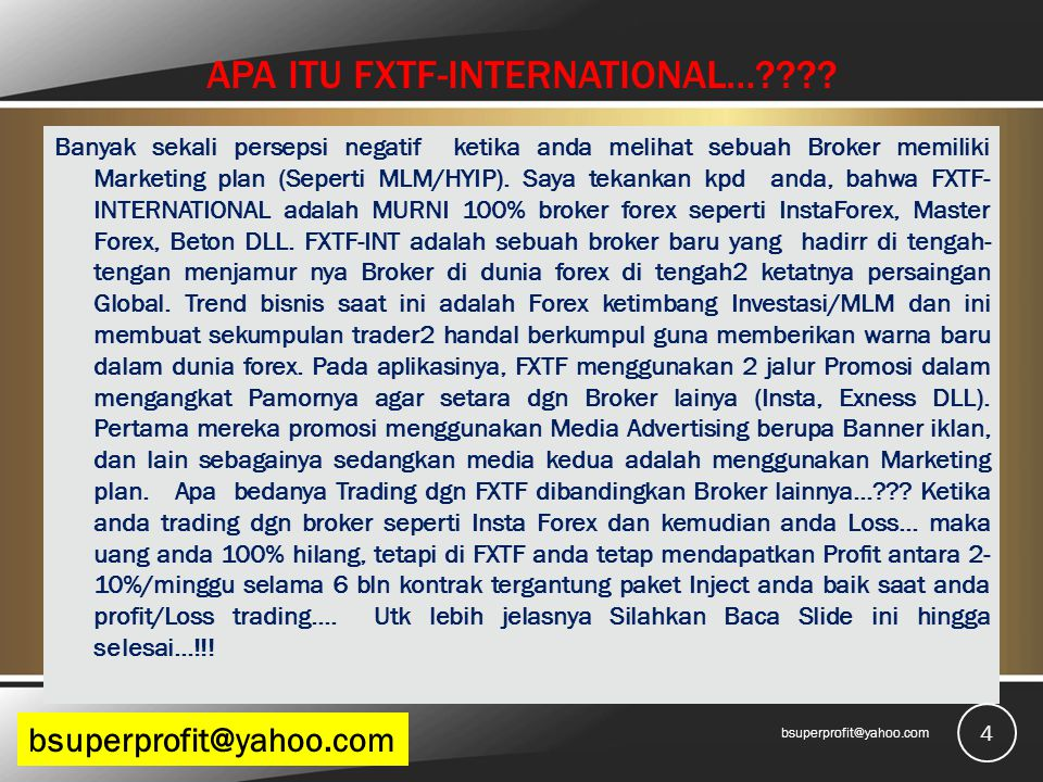 APA ITU FXTF-INTERNATIONAL…???.