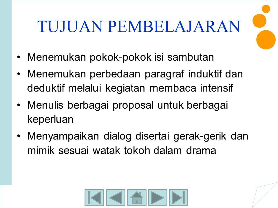 LATIHAN MANDIRI 2 Baca dan temukan kalimat utama dan kalimat penjelas pada paragraf- paragraf berikut ini.