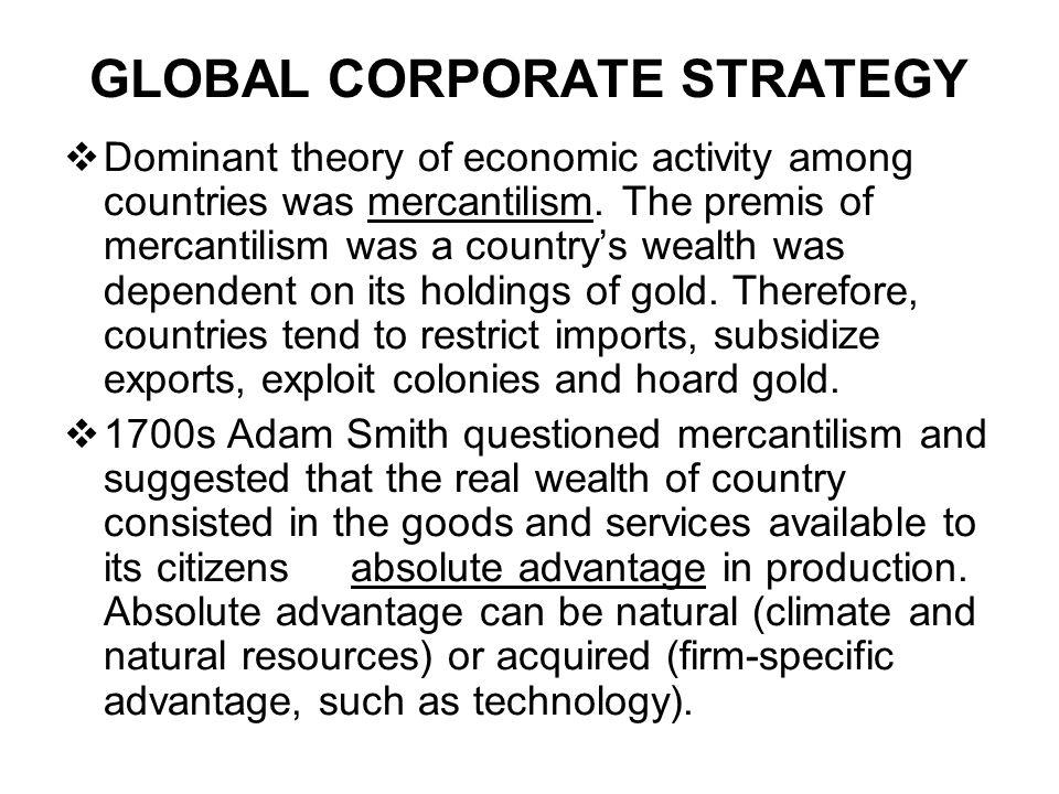 GLOBAL CORPORATE...
