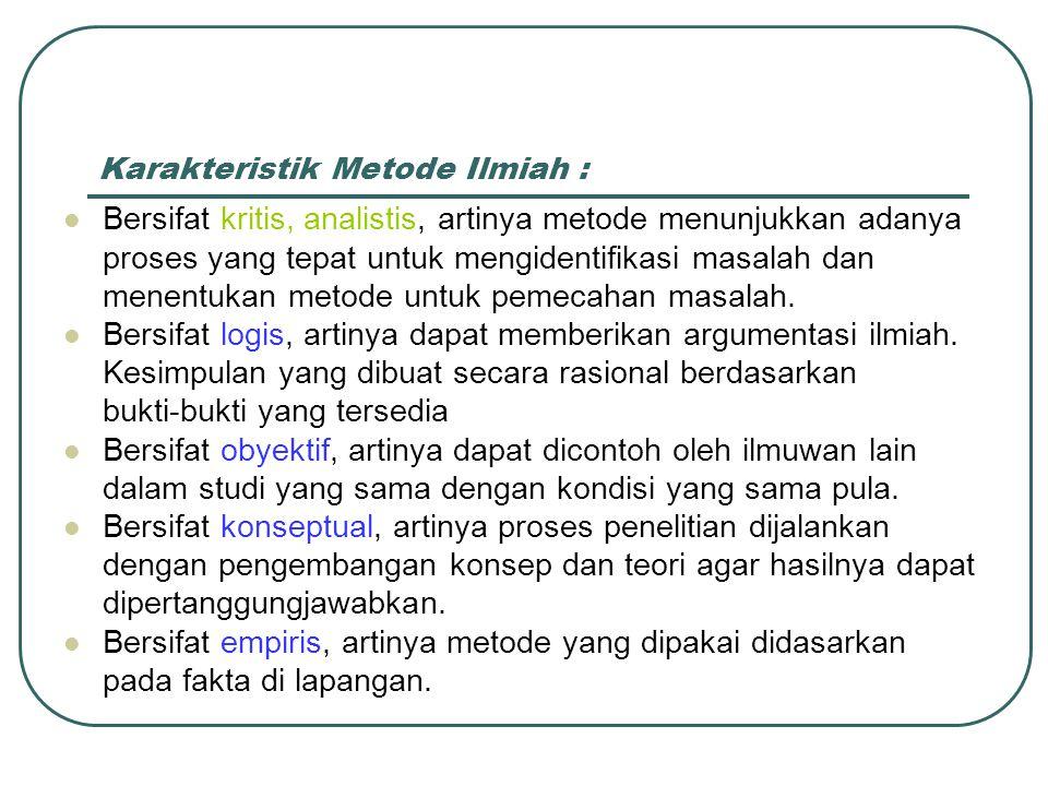 by: David Sukardi Kodrat Hubungan Ilmu, Penelitian dan Kebenaran ....