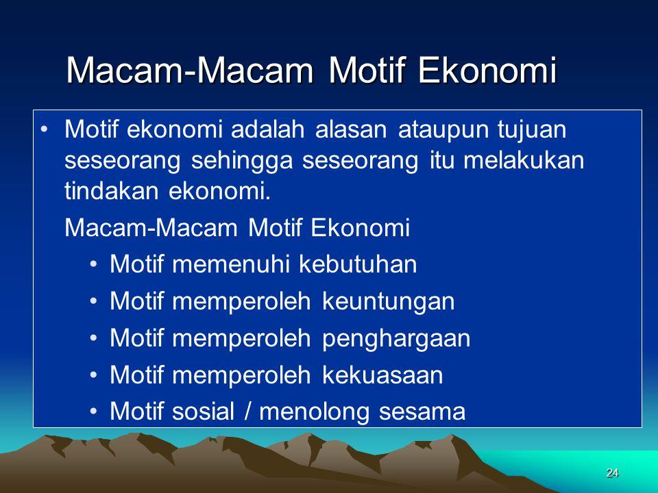 Diagram Arus Melingkar (Siklus Kegiatan Ekonomi).