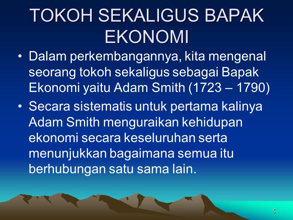 Sepuluh Prinsip Ekonomi A.