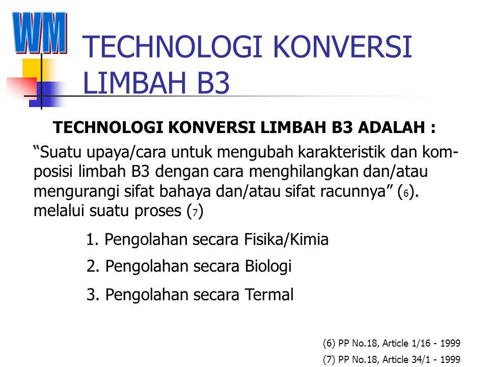"""TECHNOLOGI MINIMISASI LIMBAH B3 TECHNOLOGI MINIMISASI LEBIH DIKENAL DENGAN ISTILAH """"3R"""" Pengurangan jumlah limbah yang dihasilkan a. Reduce : b. Reuse"""