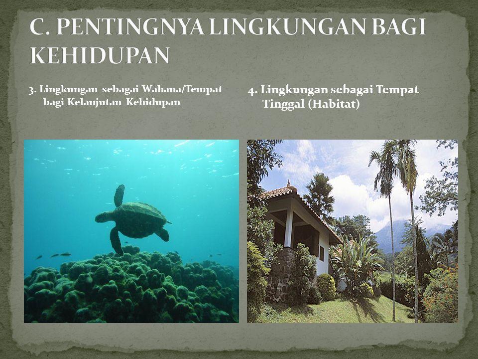 1.Bentuk Kerusakan Lingkungan Hidup Akibat Peristiwa Alam a.