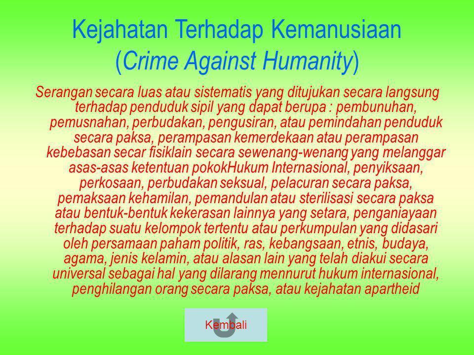 Upaya Penegakan HAM Oleh Pemerintah : 1.Menanamkan kesadaran akan HAM kepada masyaraat luas melalui pembentukan Lembaga KOMNAS HAMLembaga KOMNAS HAM 2.Penambahan perangkat Regulasi tentang HAM di Indonesiaperangkat Regulasi 3.Pembentukan Pengadilan HAM Kembali