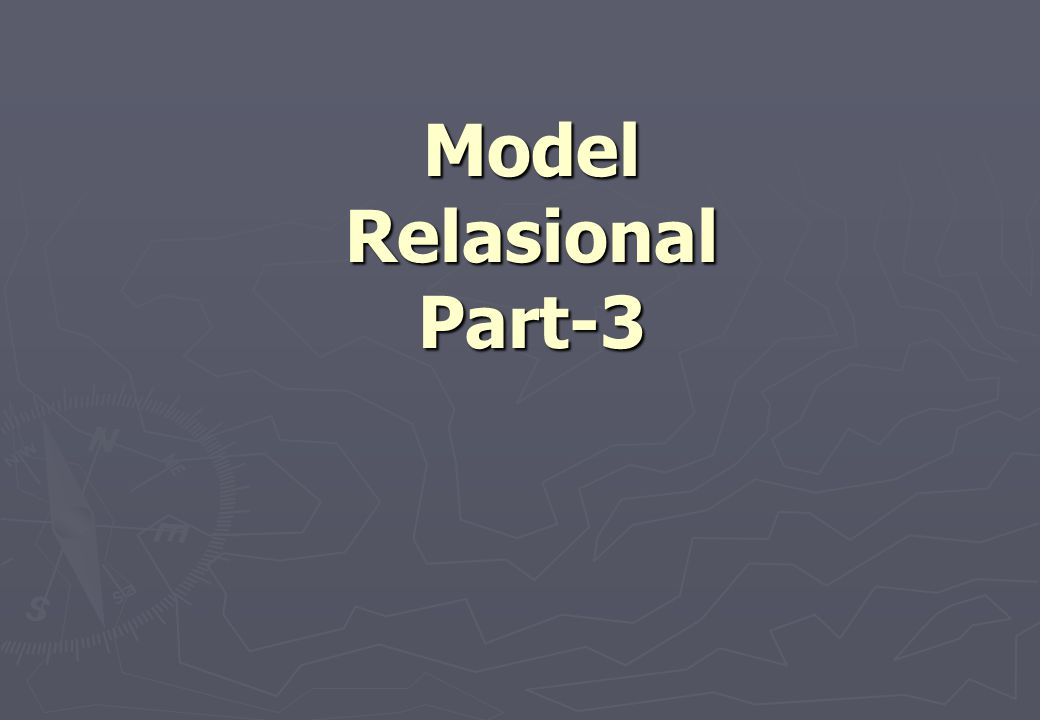 Model Relasional Part-3
