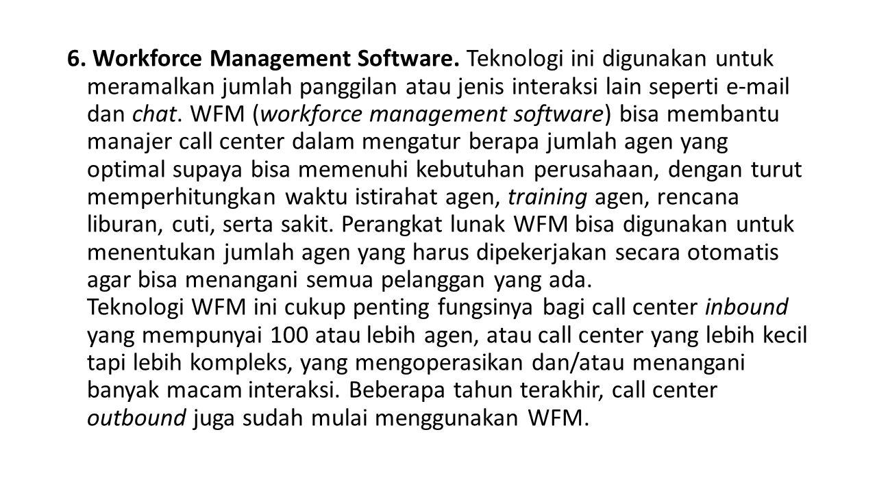 6.Workforce Management Software.