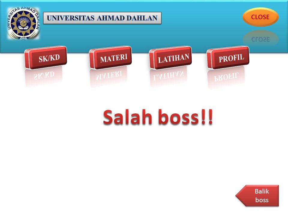 Balik boss Balik boss