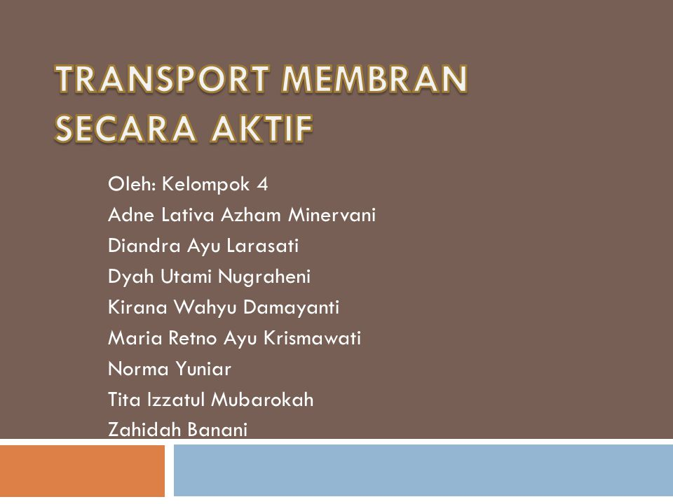 Oleh: Kelompok 4 Adne Lativa Azham Minervani Diandra Ayu Larasati Dyah Utami Nugraheni Kirana Wahyu Damayanti Maria Retno Ayu Krismawati Norma Yuniar