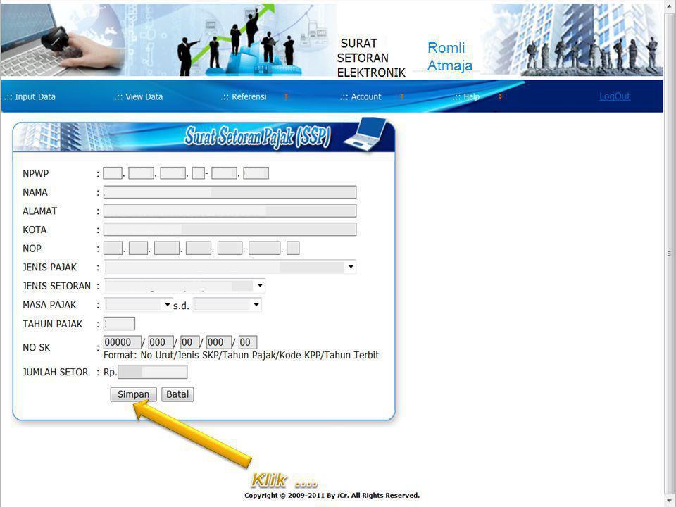 COMPANY LOGO Improving Process, Delivering Possibilities ROMLI ATMAJA Orang Pribadi (411125) Romli Atmaja