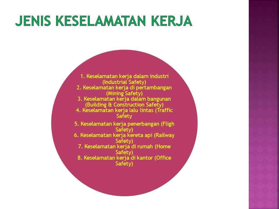 1.Keselamatan kerja dalam industri (Industrial Safety) 2.