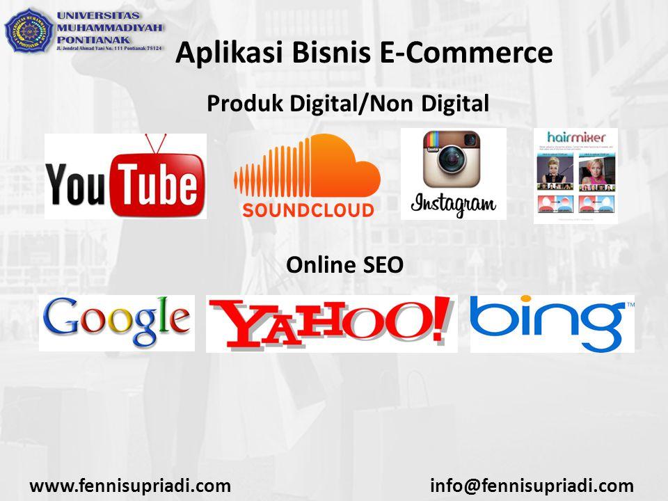 www.fennisupriadi.cominfo@fennisupriadi.com Model E-Commerce Indonesia Iklan Baris Merupakan salah satu bentuk e-commerce yang tergolong sederhana, bisa dianggap sebagai evolusi dari iklan baris yang biasanya ditemui di koran-koran ke dalam dunia online.