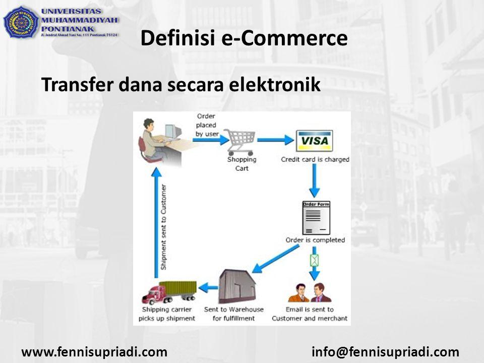 Definisi e-Commerce Supply Chain Management (SCM) www.fennisupriadi.cominfo@fennisupriadi.com