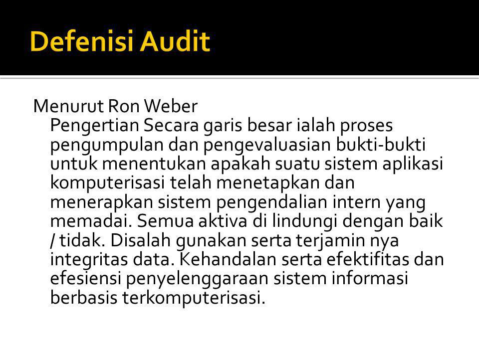  Audit Laporan Keuangan (Financial Statement Audit)  Audit Operasional (Operational Audit)  Audit Kepatuhan ( Compliance Audit)