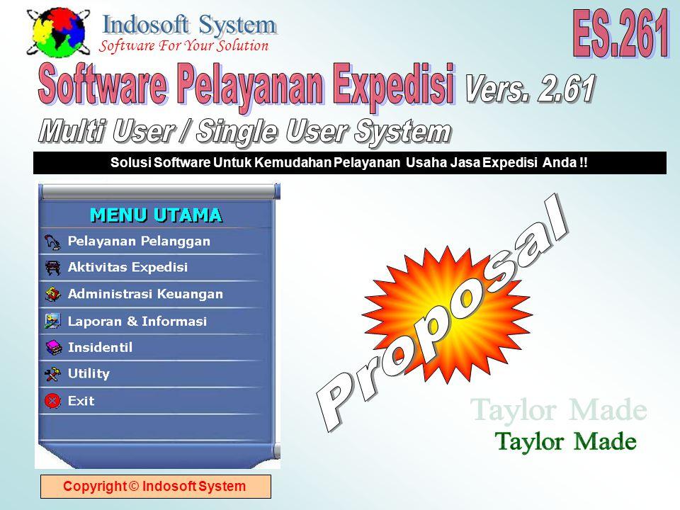 Copyright © Indosoft System Solusi Software Untuk Kemudahan Pelayanan Usaha Jasa Expedisi Anda !.