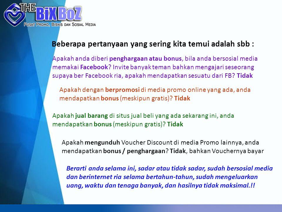Fitur ke depan Fasilitas Toko Online