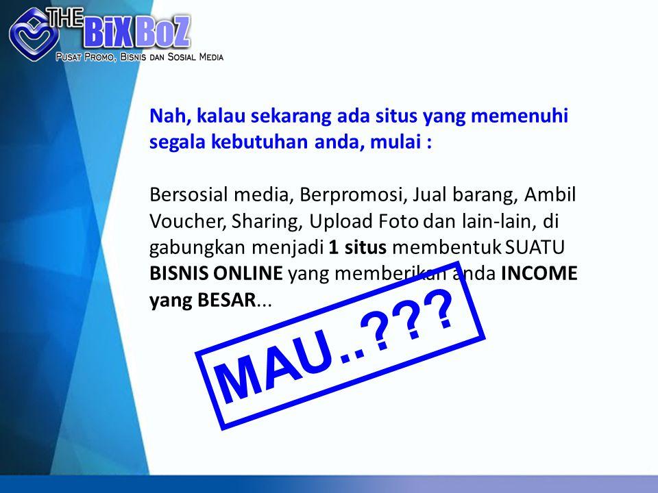BIXBOZ adalah Produk dari Smartvision Technology (ST) yang berbentuk situs Media Beriklan, Media Berbisnis dan Media Bersosialisasi untuk berkomunikasi dengan semua orang di seluruh Indonesia yang tergabung dalam komunitas BIXBOZ.