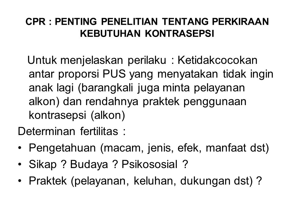 Unmetneed dan Kemiskinan Data BKKBN (2013) menunjukkan ada beberapa kabupaten yang angka unmet need-nya di atas rata-rata Jawa Tengah, yakni : Cilacap (12,91 %), Sragen (12,73 %), Grobogan (12,39 %), Pemalang (11,23 %), Banyumas (11,72 %).