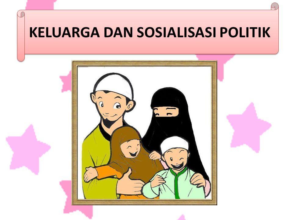 Kondisi mempengaruhi penyebaran keluarga mengenai pandangan politik seluruh keluarga tidak dapat diharapkan untuk berpengaruh secara seimbang di dalam penyebaran sikap politik.