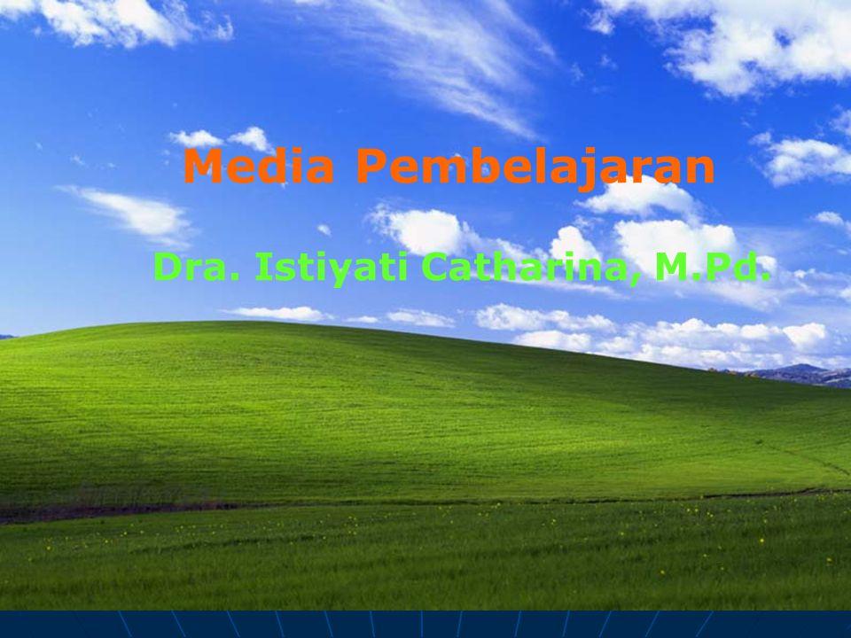 Media Pembelajaran Dra. Istiyati Catharina, M.Pd.