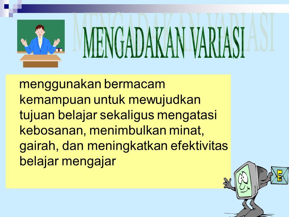  Penguatan verbal bagus, tepat, benar, hebat, jawabanmu sangat tepat,dll  Penguatan non verbal Tepuk tangan, senyuman, piagam, piala, dll KOMPONEN P