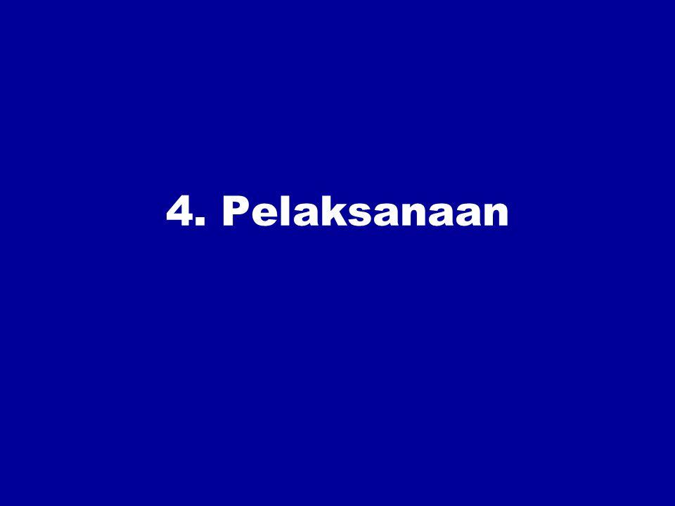 4. Pelaksanaan