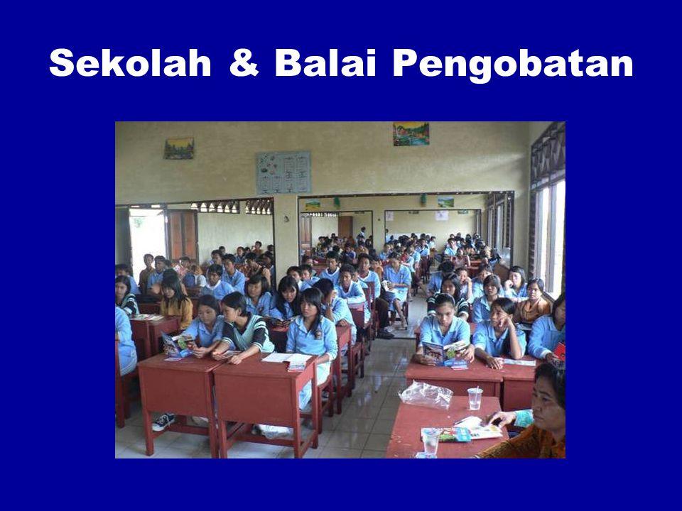 Sekolah & Balai Pengobatan