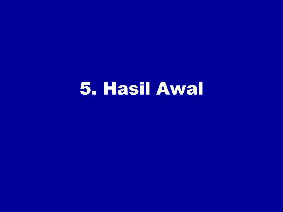 5. Hasil Awal