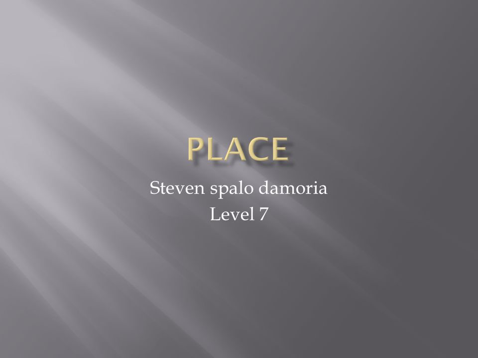 Steven spalo damoria Level 7