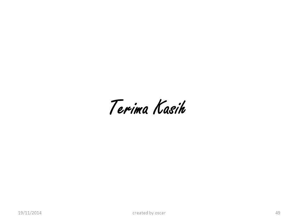 Terima Kasih created by oscar19/11/201449
