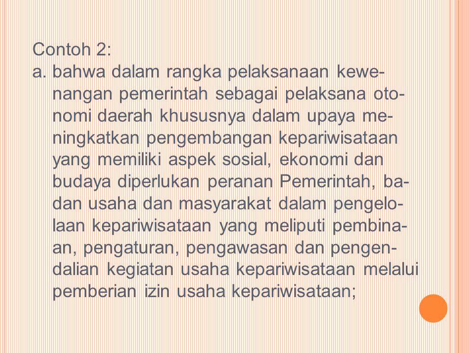 Contoh 2: a.