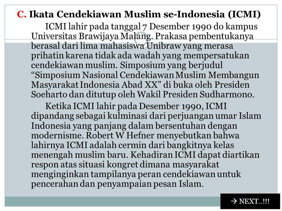 B.Muhammadiyah Muhammadiyah adalah orgaisasi sosial-keagamaan yang ruang lingkupya sangat luas, menyentuh seluruh aspek kehidupan masyarakat. Ia tidak