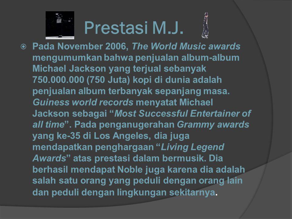 Prestasi M.J.