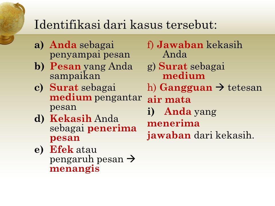 7) Antara massa dan satu orang.