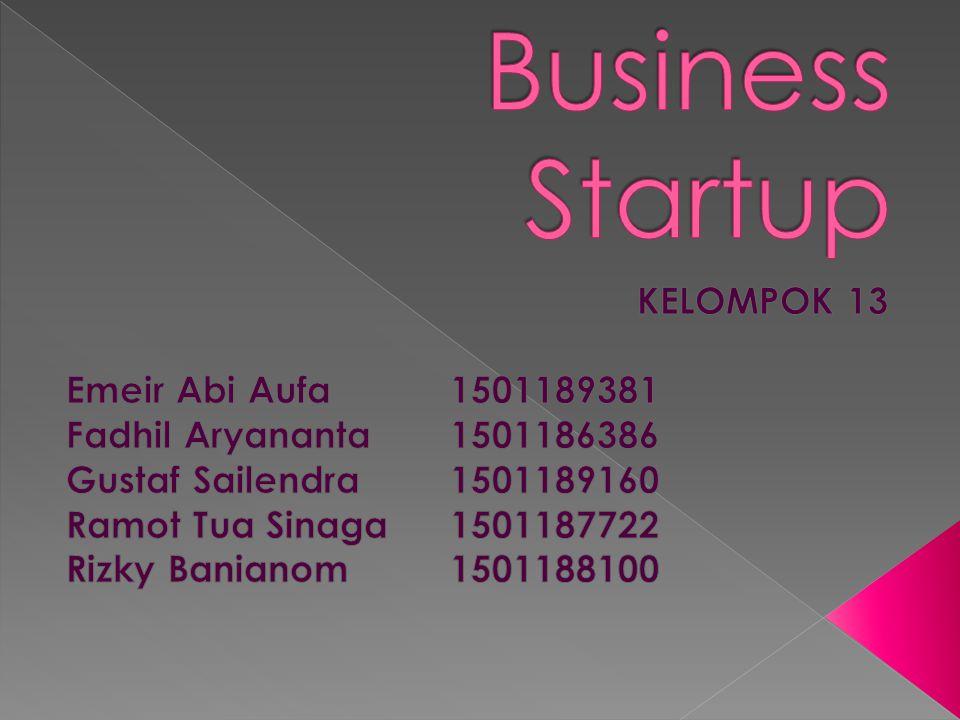  Berbicara tentang start up, start up sendiri memiliki arti memulai atau melakukan suatu kegiatan.