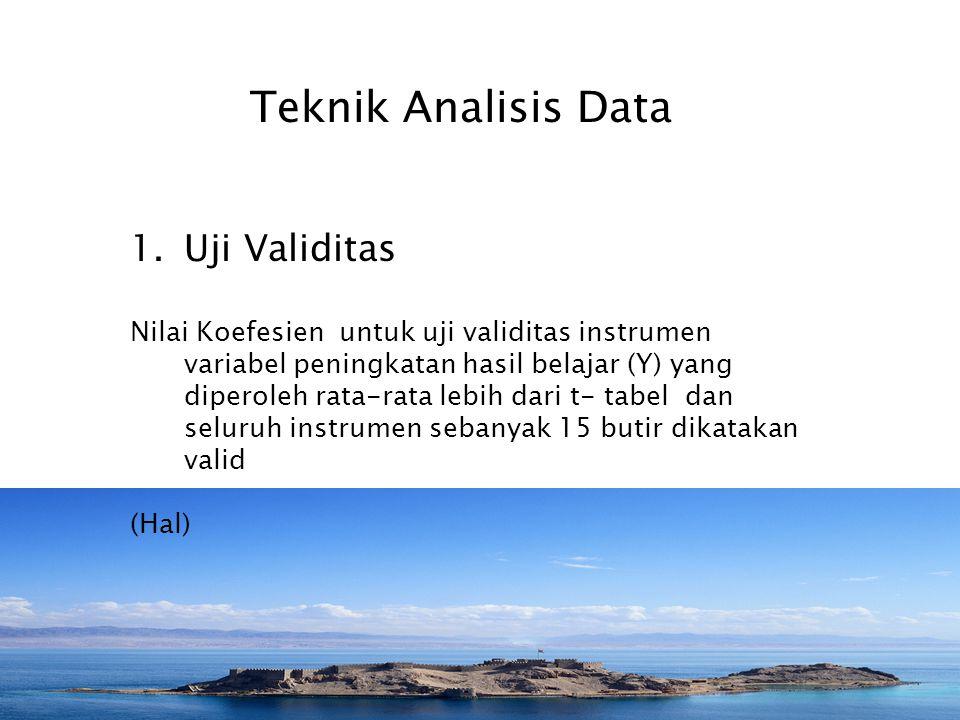 Instrumen Penelitian Dalam penelitian ini terdapat tiga variabel, yaitu pengaruh strategi belajar (X 1 ) dan penerapan metode kontekstual (X 2 ) masin