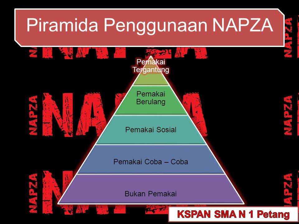 Piramida Penggunaan NAPZA Piramida Penggunaan NAPZA