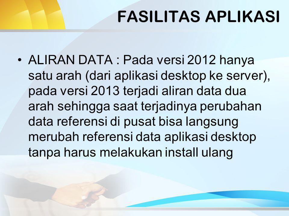 IMPLEMENTASI Aplikasi baru akan didistribusikan mulai Agustus 2013 (setelah lebaran) Kode registrasi direset ulang untuk mencegah masalah koderegistrasi saat ini yang banyak digunakan di lebih dari satu sekolah