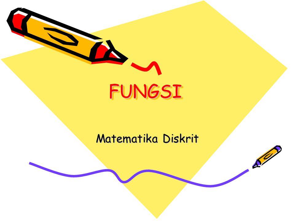 FUNGSIFUNGSI Matematika Diskrit