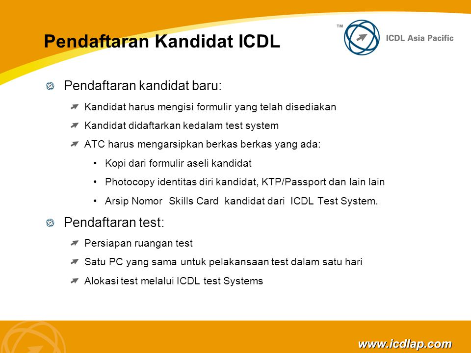 www.icdlap.com Terima Kasih...! Thank You! For more information please visit: www.icdlap.com