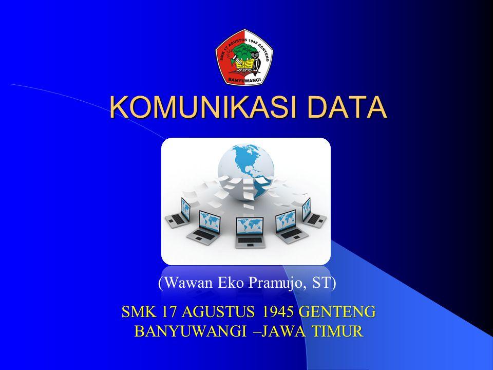 Kapasitas Channel Transmisi  Kapasitas atau transfer rate dari suatu channel transmisi dapat digolongkan dalam  Bandwidth menunjukkan sejumlah data yang dapat ditransmisikan untuk satu unit waktu yang dinyatakan dalam satuan bps (bits per second) dan cps (characters per second).