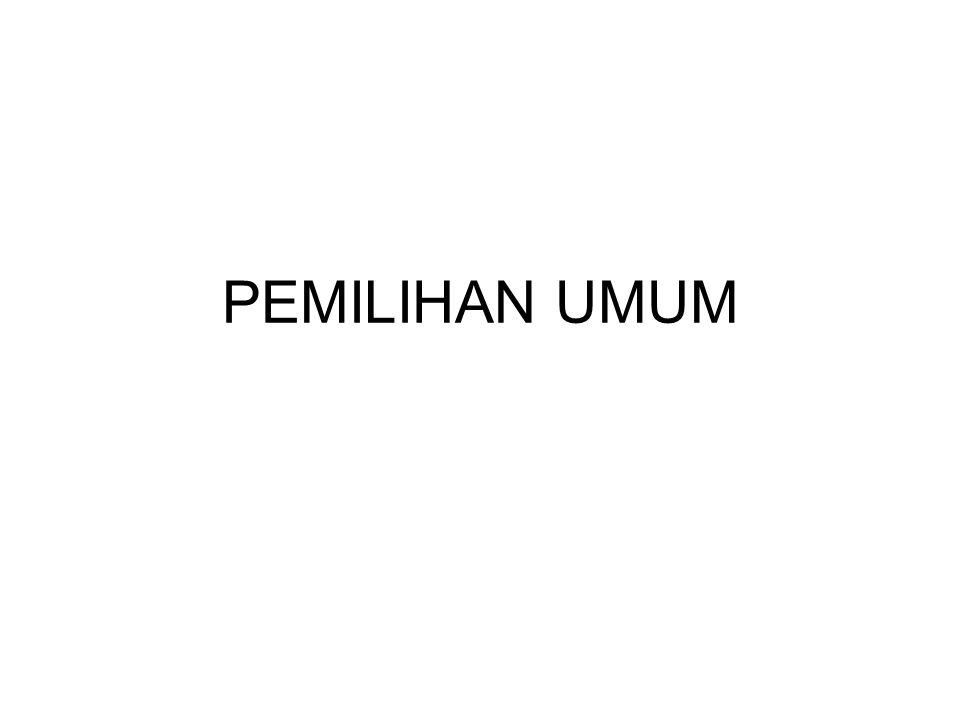 PEMILU PRESIDEN
